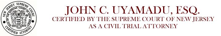 JOHN C. UYAMADU, ESQ. Logo